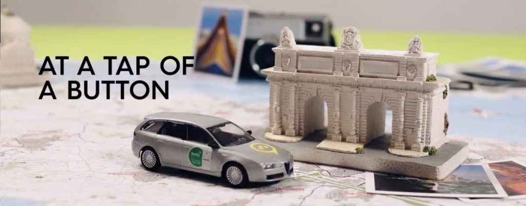 taxify advert, bolt advert, stop motion animation