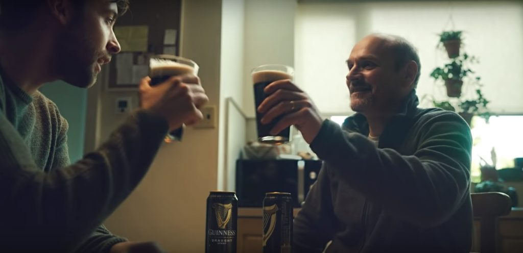 Guinness advert cheers toast st patrick's day stay at home coronavirus covid-19